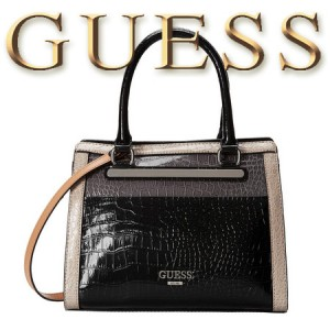 Geanta dama GUESS Fox Trot Small Satchel