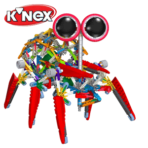 Robot Turbo Spider KNEX