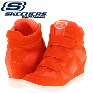Platforme Skechers SKCH Plus 3 Orange