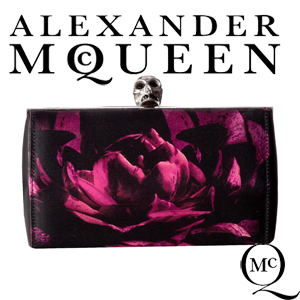 Geanta Clutch Alexander McQueen Faceted Clutch
