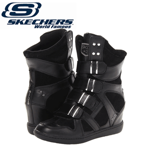 Skechers SKCH Plus 3 Ring Me Black - Platforme inalte