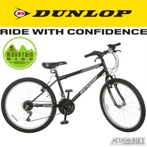 Biciclete ieftine Mountain Bike Dunlop copii 7-12 ani