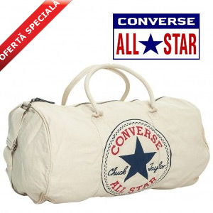Geanta sport Converse All Star Barrel Duffel Bej