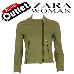 Jacheta dama Zara Women in model biker