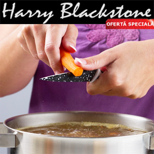 Set cutite Harry Blackstone lama otel inoxidabil