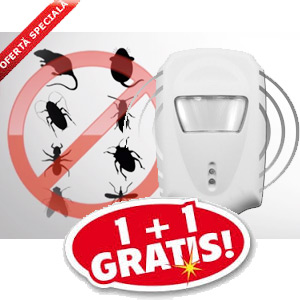 Un aparat anti gandaci care merita. Functioneaza. Pest Repeller