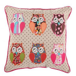 Perna decorativa Wondering Owls 30x30cm la Vivre