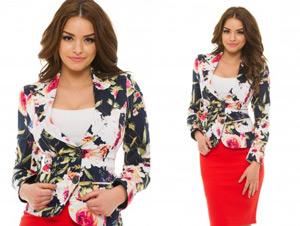 Sacou dama LaDonna Floral Nest Rosa StarShiners