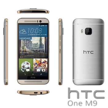 Smartphone HTC One M9 la emag evomag altex si azerty