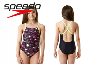 Costum fete inot Speedo Allover Rippleback