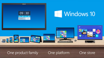 Noul Windows 10 - lansare gratuita in 2015