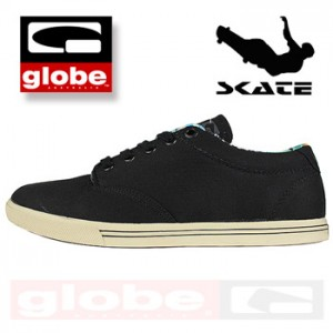 Tenisi Skate Globe Negru Lighthouse Slim