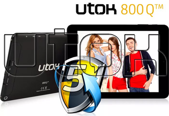 Pret redus la Tableta UTOK Quad Core 800Q