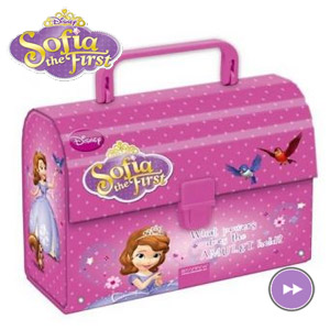 Geanta de pranz Disney Sofia the First