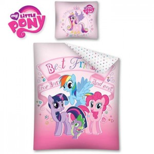 Lenjerie de pat copii My Little Pony Best Friends for Ever and Ever