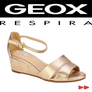 Sandale casual dama Geox Lupe roz