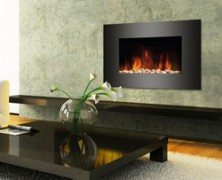 Semineul electric Luxury Flame eficient si economic