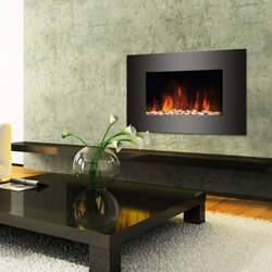 Semineul electric cu telecomanda Luxury Flame economic si eficient