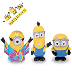 Set figurine Minions din New York