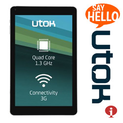 Tableta Telefon GSM 3G UTOK Hello 10Q HD