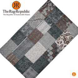Covor din lana tesut manual The Rug Republic