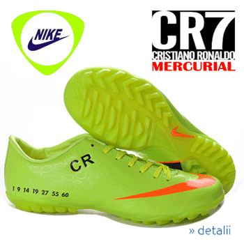 Electric Green Nike Mercurial Victory Cr7 V on amazon united states
