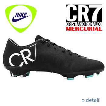 Football Boots NIKE MERCURIAL VICTORY V CR7 FG JR
