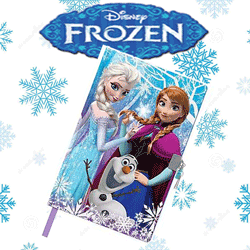 Jurnal secret tema Disney Frozen