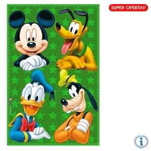 Paturica copii fleece Disney Mickey Mouse Friends
