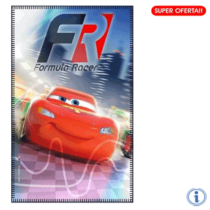 Paturica fleece baieti Disney Cars FR