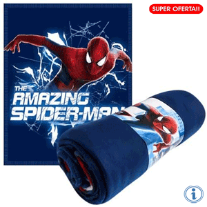 Paturica polar Amazing Spiderman 100 x 150 cm