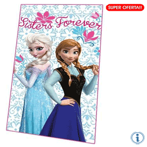 Paturica polar Disney Frozen Sisters Forever