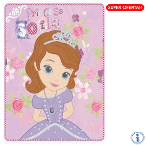 Paturica polar Disney Princess Sofia The First 120 x 140 cm
