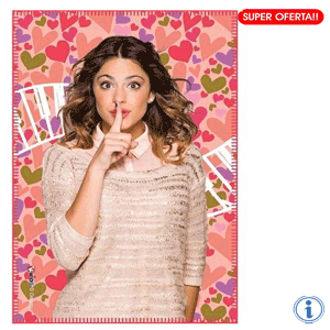 Paturica polar Disney Violetta Love Music