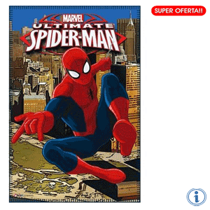 Paturica polar Ultimate Spiderman 100 x 150 cm
