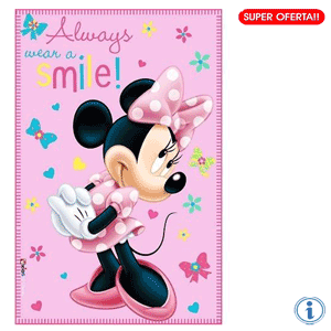Paturica polar fetite Disney Minnie Mouse Smile