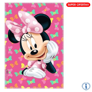 Paturica polar fetite Disney Minnie Mouse