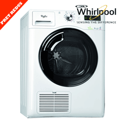 Uscator de rufe Whirlpool 6th Sense Green Generation AZA999 de capacitate mare 9KG
