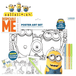 Set de arta Despicable Me Minions