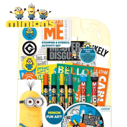 Set stampile si sabloane Despicable Me Minions