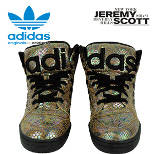 adidas Originals Jeremy Scott Instinct HI Rainbow Snake Print
