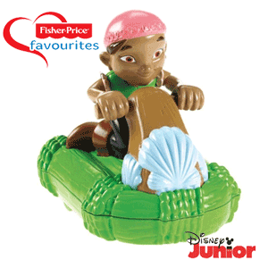 Figurina Fisher Price Izzy pe JetSki
