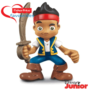 Figurina Fisher Price Jake si Piratii din Never Land