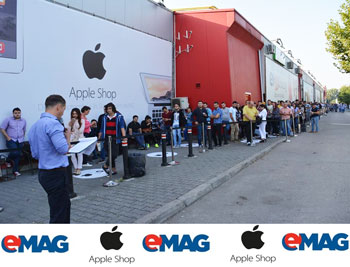 Apple Shop eMAG Bucuresti Showroom