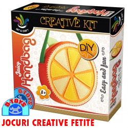 Creative Kit JUICY HANDBAG Set creatie geanta portocala
