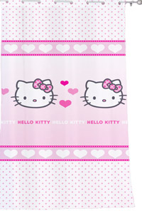 Draperie camera fetite Hello Kitty Mimi Love Pink