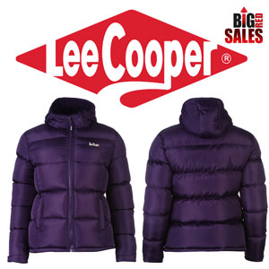 Lee Cooper 2 Zip Bubble geaca pufoaica de dama