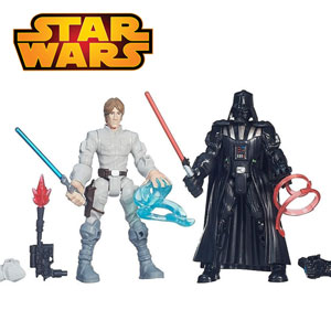 Pachet special Figurina Luke Skywalker si Darth Vader