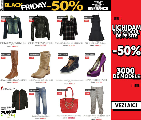 Vezi intreg catalogul de branduri Kurtmann Black Friday
