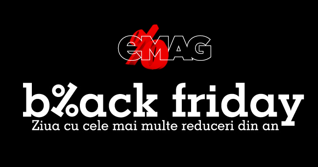 Infromatii Black Friday eMAG 2016